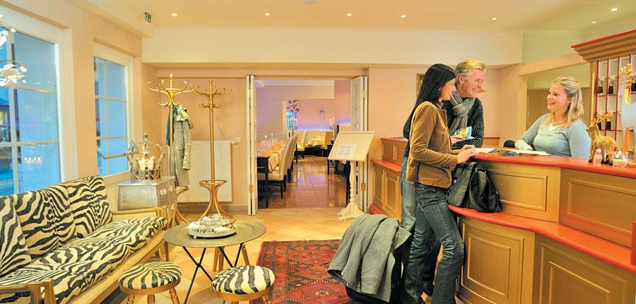 Hotel Heitzmann, Zell am See, Austria - Reception area.jpg